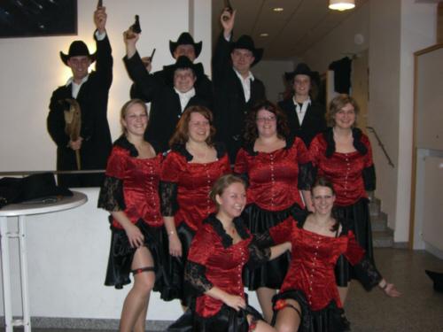 Tanzgruppe 2007